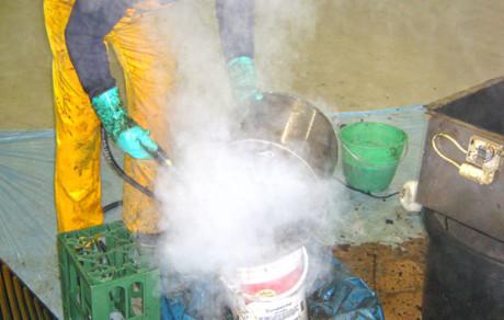 Reinigung / Fettreinigung Abluftkanäle Gastronomie